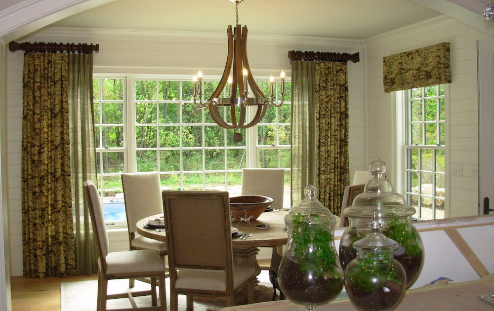 Distinctive Window Treatments Will Make Your Home Complete.