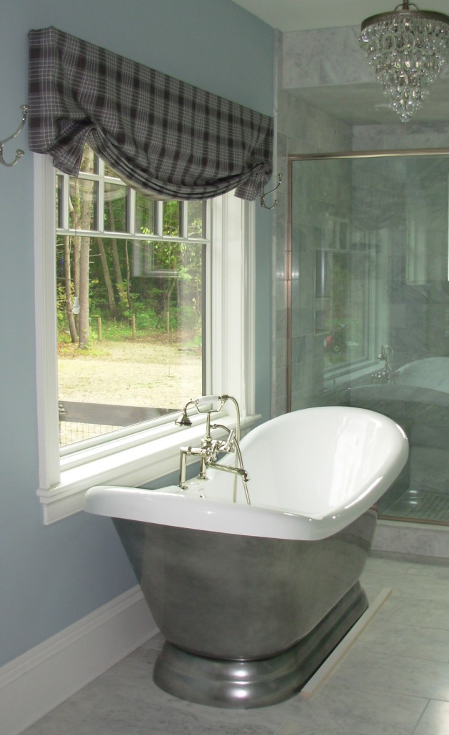 Tassels Trim Saratoga Springs Master Bath